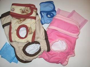 Diaper for female dogs